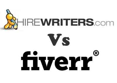 fiverr vs hirewriters review