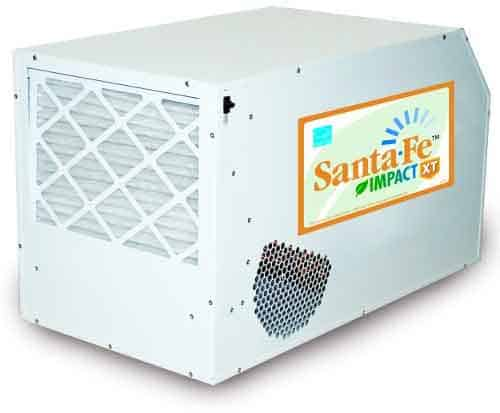 best dehumidifier for under house - Santa Fe Impact XT