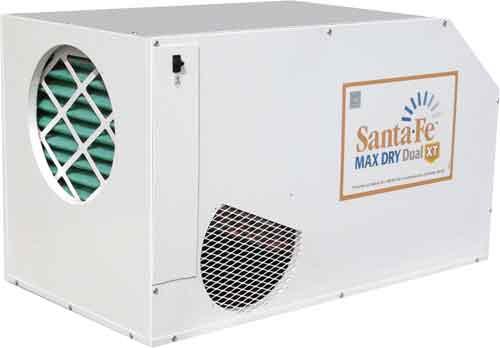 crawl space dehumidifier - Santa Fe Max Dry Dual XT Dehumidifier