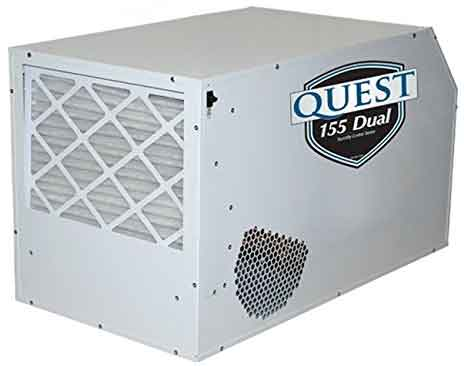 crawl space dehumidifier - quest dual 155