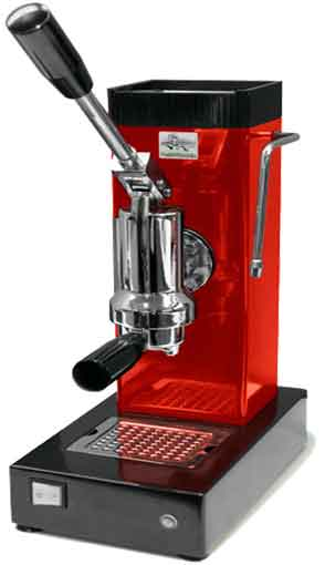 Red Pontevecchio Lever Espresso Machine - Consumer Files