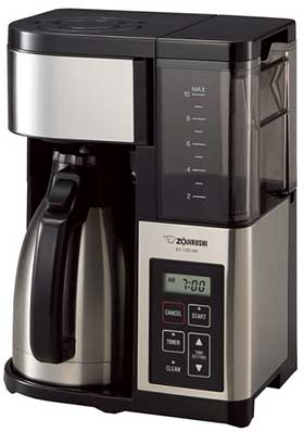 best coffee makers with thermal carafe Zojirushi Consumer Files Coffee Maker With Carafe  Cup Top  Best Thermal Coffee Maker And Reviews