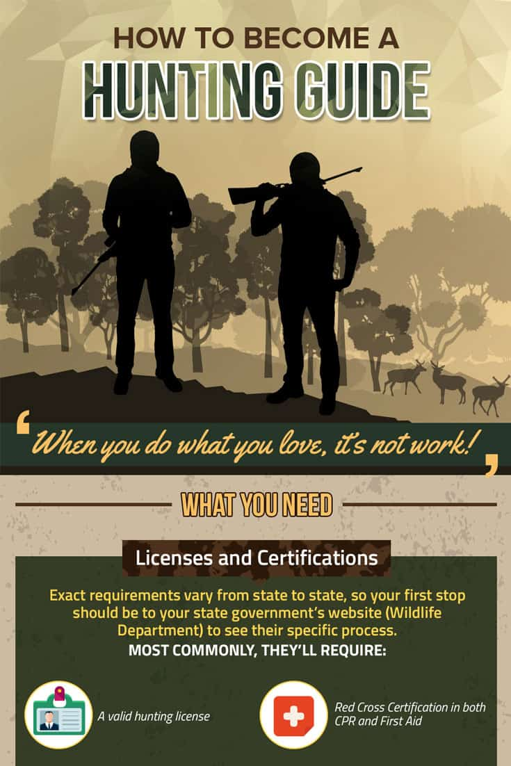 how to become a hunting guide in texas