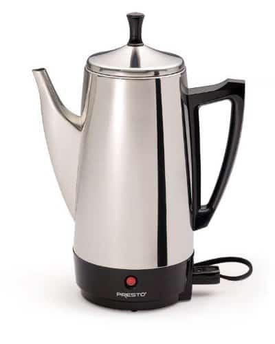 coffee maker no plastic Presto Consumer Files