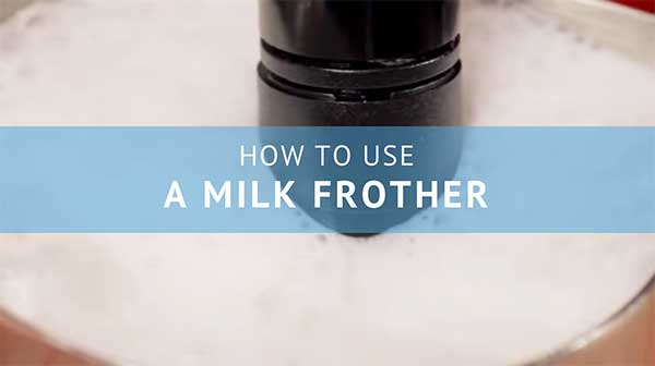 How to use a milk Frother - Consumer Files Blog