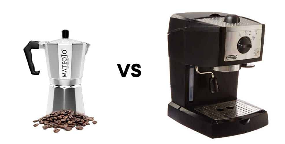 Stovetop Coffee Maker Home : Stovetop Coffee Maker vs Espresso Machine - Consumer Files