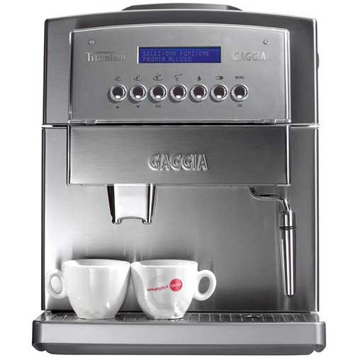 gaggia titanium office superautomatic espresso machine review. Black Bedroom Furniture Sets. Home Design Ideas