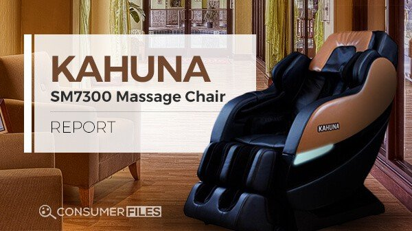 Kahuna SM7300 Massage Chair Review - Consumer Files