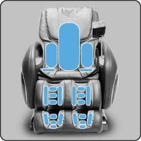 cozzia massage chair air pressure - Cozzia Massage Chair