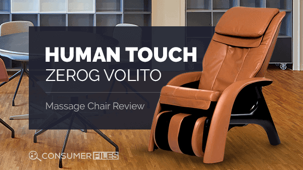 Human Touch ZeroG Volito Massage Chair Review - Consumer Files