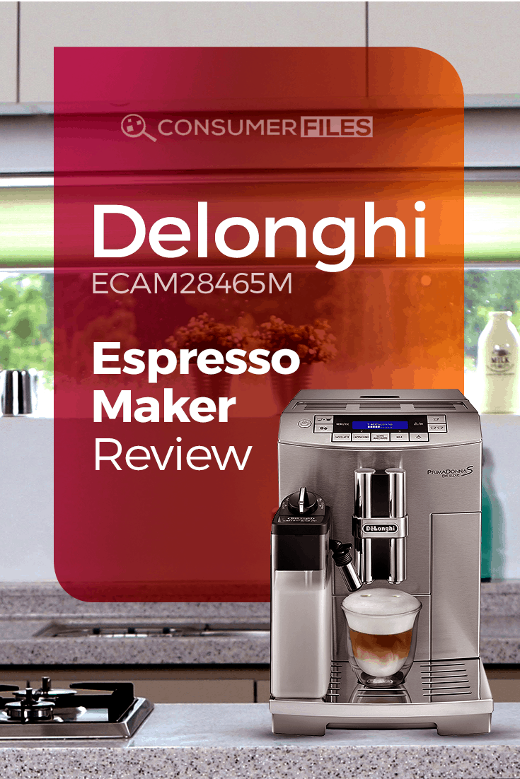 Providing a complete, detailed picture of the #DeLonghi #ECAM28465M #EspressoMaker to help you decide if it's the right automatic #espresso maker for you.