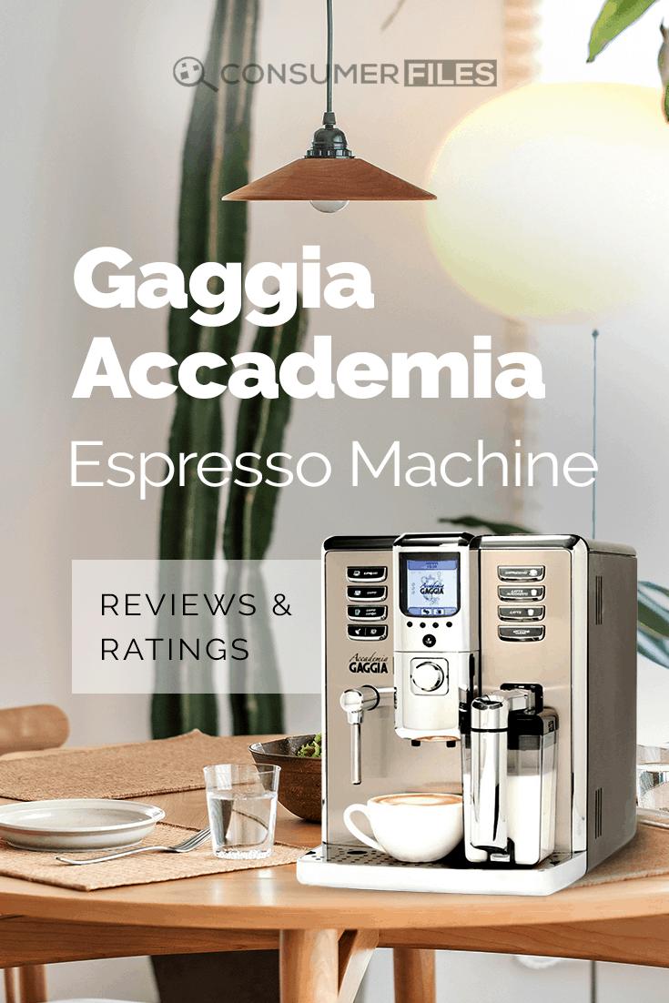 gaggia titanium espresso machine review