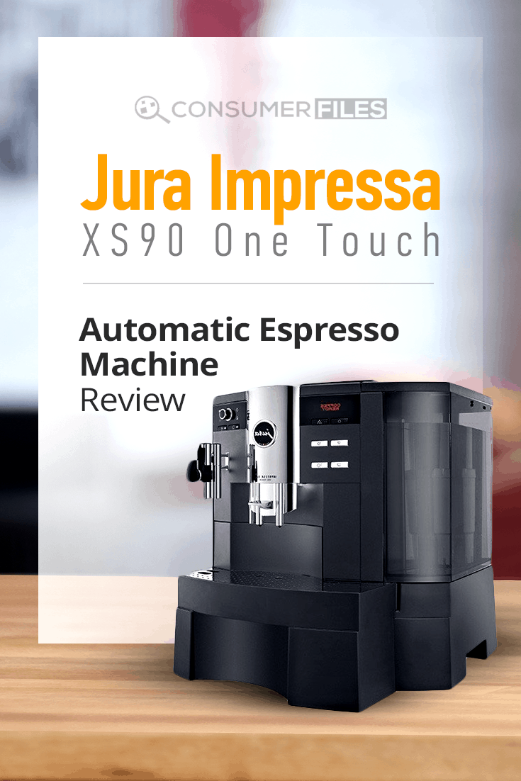 Learn from this #JuraImpressaXS90 One Touch Automatic #EspressoMachine review what makes this machine perfect for #coffeeaficionados.