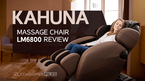 Kahuna Massage Chair LM6800 Review - Consumer Files