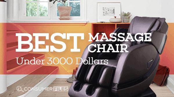Best Massage Chairs Under $3000 Review 2018