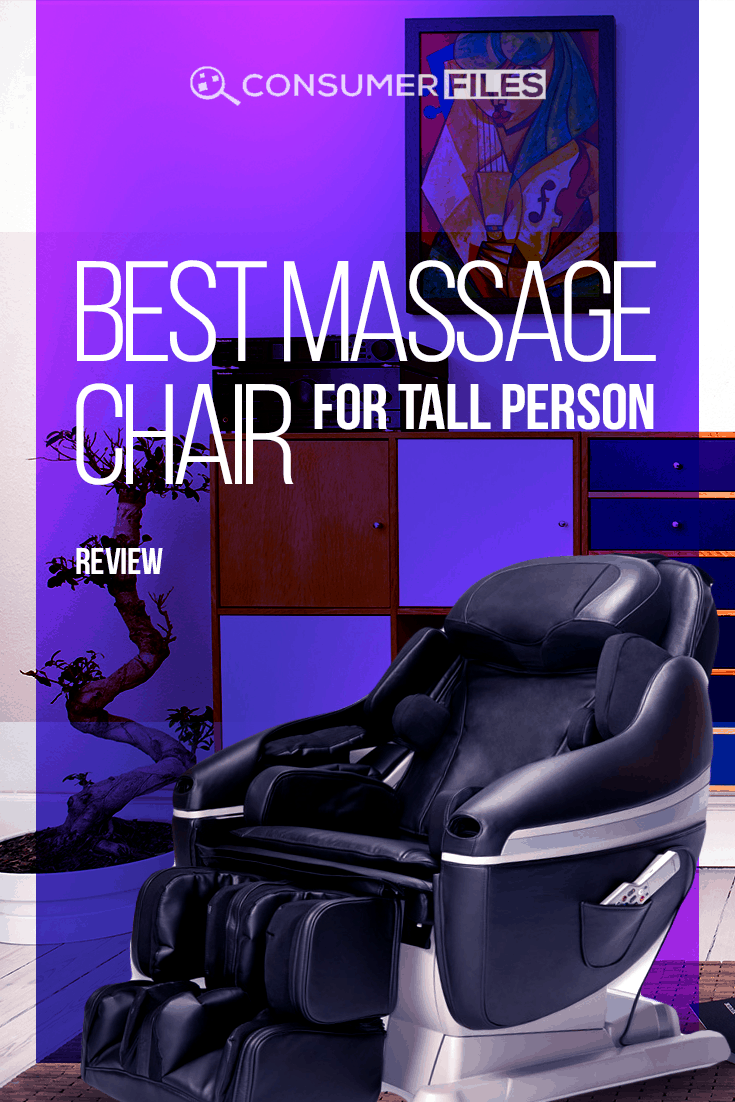 If you're searching for the best #massagechair for #tallperson, this article introduces you to four great options for big and tall users.