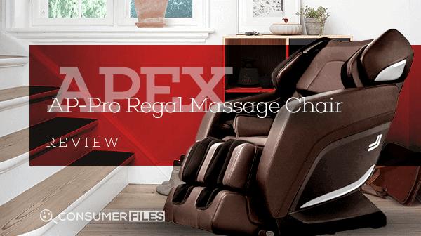Apex AP-Pro Regal Massage Chair Review - Consumer Files