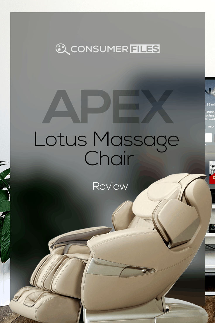 Our Apex Lotus massage chair review gives an in-depth look at the chair's unique features to see why this is one of the most therapeutic options available.