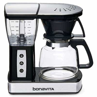 An image of bonavita coffee maker vs technivorm