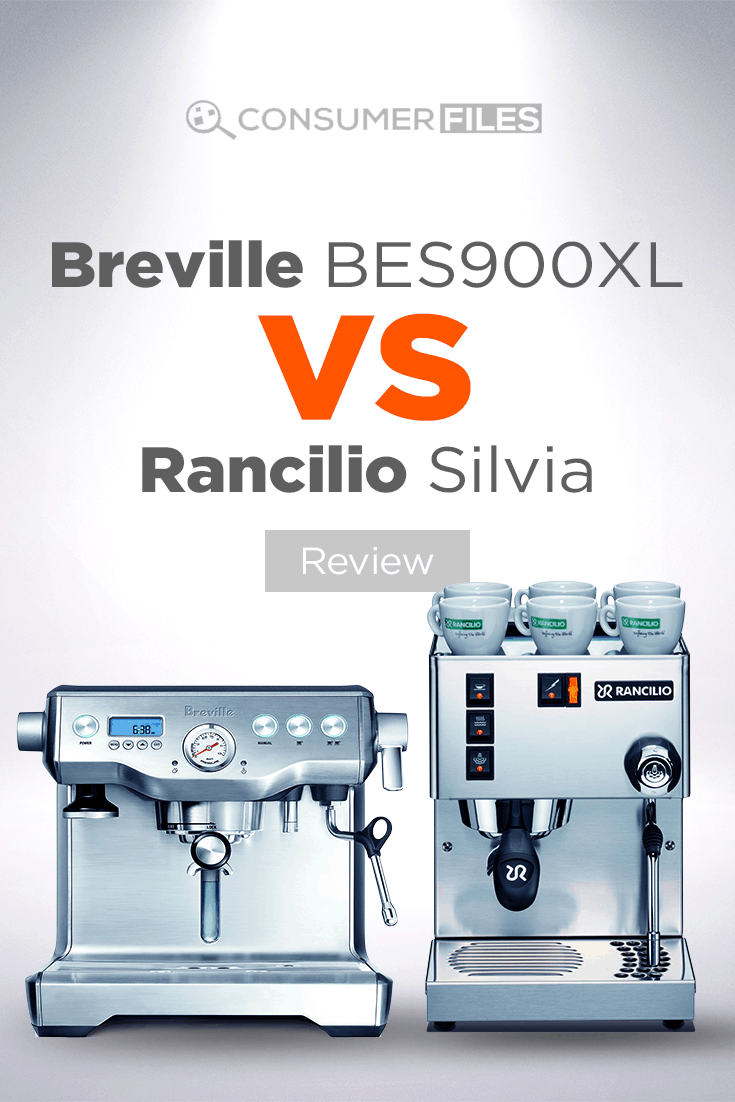 Find out which of these two espresso machines is the right one for you in our in-depth @BrevilleUSA BES900XL vs @RancilioGroupNA Silvia review. #Espressomachine