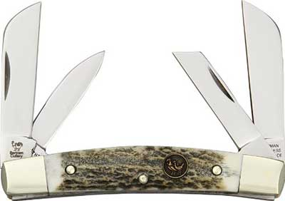 Hen and Rooster Pocket Knives Congress Deer Stag Folding Knife - Consumer Files