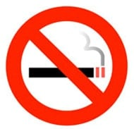 An Image of Avoid Smoking for Warning Signs of Frostbite