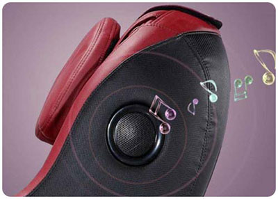 An Image of Curved Video Gaming Shiatsu Massage Music Function for BestMassage Curved Video Gaming Shiatsu