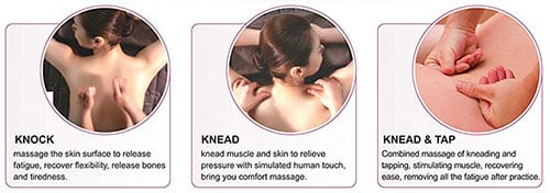 An Image of iJoy 2310 Massage Technique for BestMassage Curved Video Gaming Shiatsu Massage
