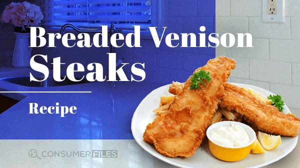 Recipe for Breaded Venison Steaks