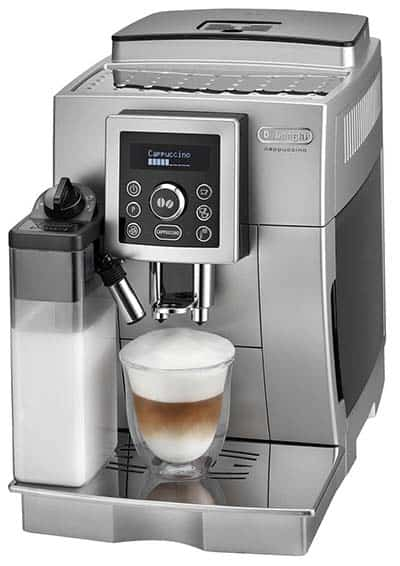 Delonghi ECAM 23460 S is recommended for single coffee drinker households