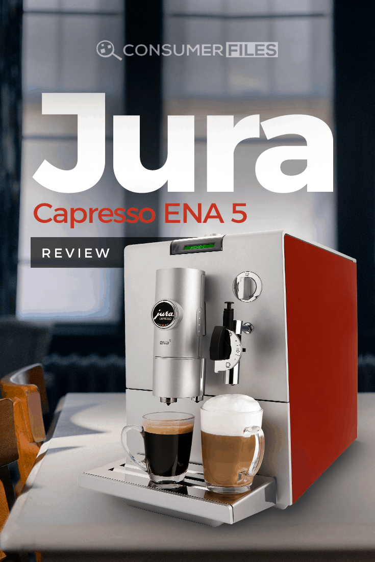 Does the #Jura Capresso #ENA5 stand up to the #coffeemaker relationship test? Read our review to find out more about its features and functionalities.