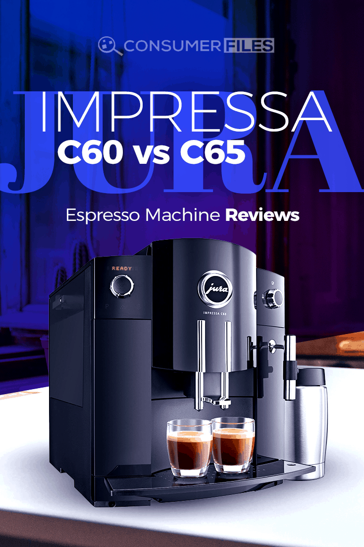 What are the differences between the #Jura #ImpressaC60 #EspressoMachine vs #C65EspressoMachine? Is it worth upgrading? Find out more in our review.
