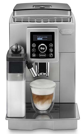 Delonghi 23460 features ceramic burr design with an impressive 13 grind settings