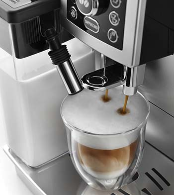 Delonghi ECAM 23460 S features an auto-frother