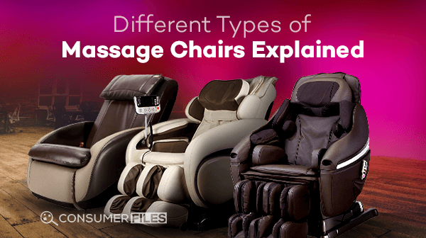 Different Types of Massage Chairs Explained