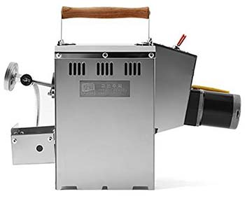A side view of Kaldi home coffee roaster.