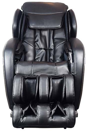 A Front view image of Ogawa Active Supertrac massage chair with advanced roller technology
