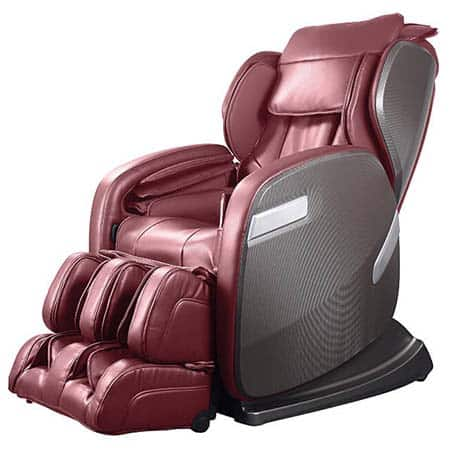 An image of a Ogawa Active Supertrac massage chair in cherry color