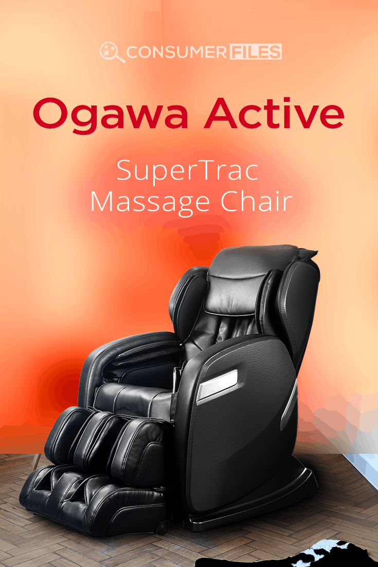 Check out our detailed @OgawaWorldUSA Active SuperTrac massage chair review. An unusual design that might be just what you've been searching for.