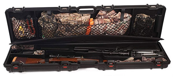 An Open Case Image with Rifle of Negrini 1640 DSR Rifle Case