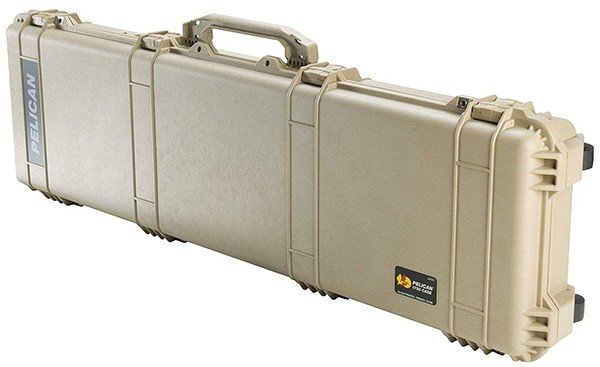 A Fron View Image of Pelican 1750 Rifle Case
