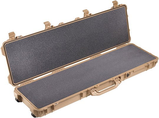 An Open Case View Image of Pelican 1750 Rifle Case