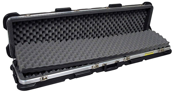 An Open Up Case of SKB ATA Double Rifle Case