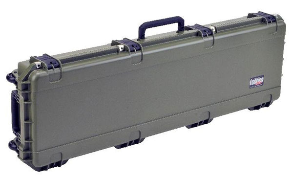 A Side View Image of SKB Double Bow/Rifle Case