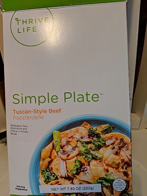 A Booklet Image of Thrive Life for My Year of Eating Like the World Ended – Monthly Report