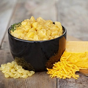 An Image of Mac and Cheese for Review of My Year of Eating Like the World Ended