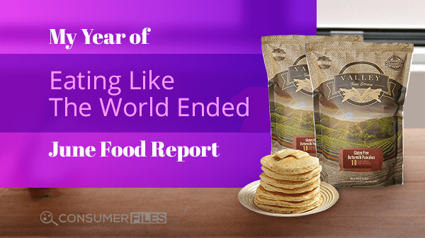 Valley Food Storage Freeze Dried Food - Gluten Free Buttermilk Pancakes