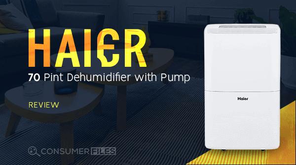 Haier 70 Pint Dehumidifier with Pump