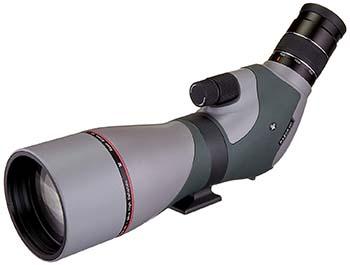 Grey/Green, Porro Prism, secure and durable strength, Vortex Optics Razor HD RZR-65A1 Angled Spotting Scope