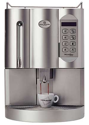 Steel/White, Automatic washing programEffective grinding, Nuova Simonelli Microbar Super Automatic
